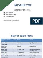 Type Value