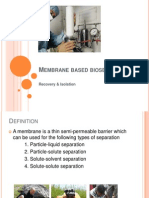5.Membrane Based Bioseparation-purification