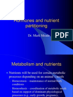 Hormones and Nutrient Partitioning