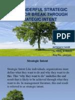Strategic Intent 3