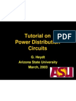 Tutorial on Power Distribution