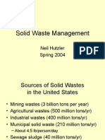 solid waste management methods
