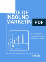 The 2012 State of Inbound Marketing