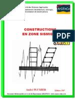 34591 Constructions en Zone Sismique