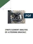 C. Kalavrytinos - FEA of a Steering Knuckle