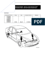 SAAB 9-3 Sedan (M03) - Sport Chassi (installation manual) (SWE)