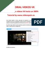 Tutorial Videos Vk