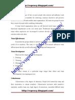 Internship Report on Pso