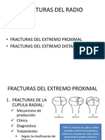 Fracturas Del Radio y Cubito