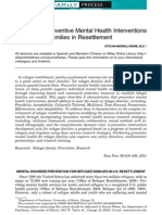 Developing Preventive Mental Health Interventions