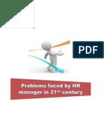Challenges Facing HR