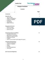 QLTT Candidate Handbook