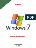 80 Dicas Para Windows 7