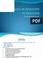 Key Issues in Industry in Pakistan