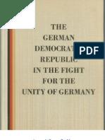 Η Γερμανική Λαοκρατική Δημοκρατία στον αγώνα για την ενότητα της Γερμανίας (1951)