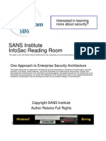 Approach Enterprise Security Architecture 504