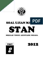 Soal Prediksi USM STAN 2012