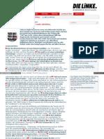 Rechtsterrorismus Aufklären, V-Leute abziehen, Verfassungsschutz auflösen - www_dielinke_nrw_de