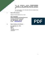 Xlr i Mandatory Disclosure 2009