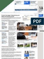 Fromm trat wegen Vertuschung von Aktenvernichtung zurück - www_noz_de