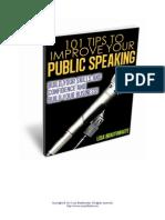 101tip Public Speaking