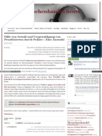 Fälle von Gewalt und Vergewaltigung von Prostituierten durch Polizei - Eine Auswahl - menschenhandelheute_wordpress_com
