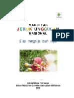 Buku Varietas Unggulan Jeruk Nasional