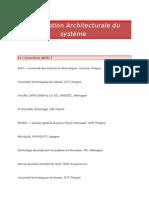 INDECT - Traduction de la Description Architecturale Du Systeme