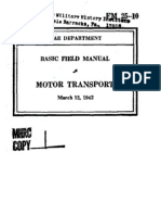 Basic Field Manual Motor Transport March 12 1942