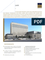 Classical Hotels Metropol Palace Fact Sheet