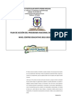 Programa de Lectura Centro Educativo