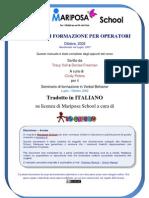 Mariposa School - Training Manual Italiano Iocresco V2.3 Doc