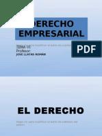 Derecho Empresarial Introduccion