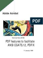 PDF X Specification