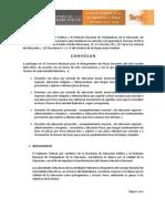 Convocatoria 2012-2013 DS