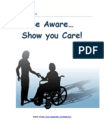 Be Aware...Show You Care!