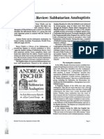 Sabbatarian Anabaptists