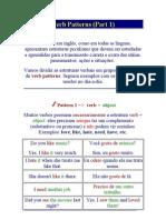 Verb Patterns 1