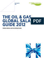 2012 Oil and Gas Salry Survey