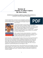 Review of Sandy Koufax