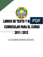Libros de Texto 2011-2012
