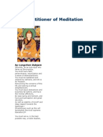The Practitioner of Meditation