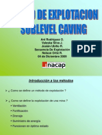 Sublevel Caving