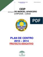 1.- Plan de Centro 2010-2014 .- Introduccion