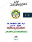 0 Proyecto Curricular Infantil 2009