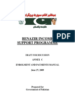 benazir income support programe