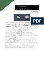 Wikileaks the Wiki Story