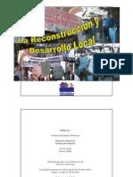 Recostrucción y Desarrollo Local