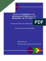Aproximación Diagnóstica en 10 Municipios