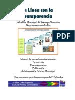 Manual de Procedimientos Internos Santiago Nonualco